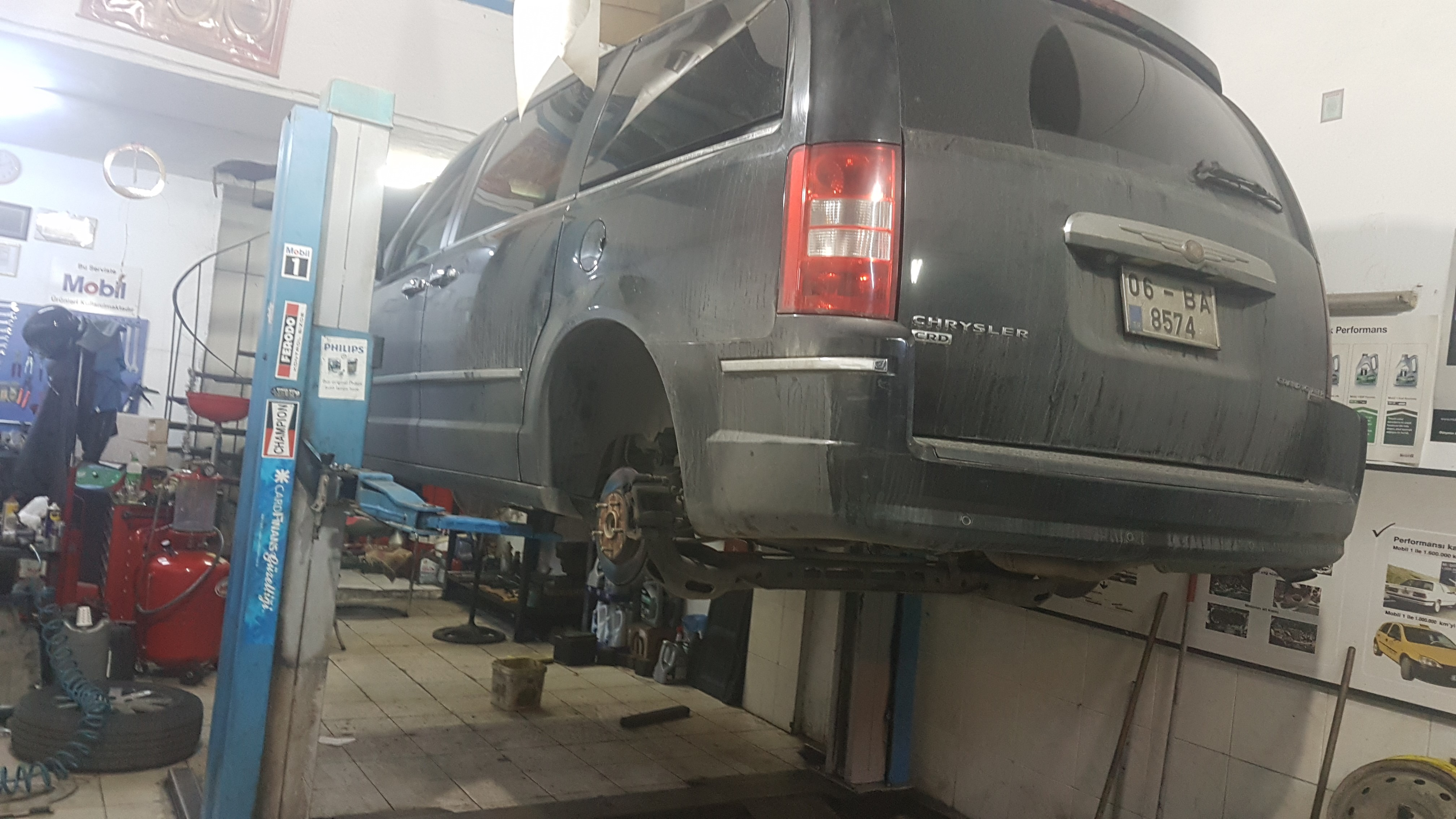 Chrysler Town Country Periyodik Yağ Bakımı