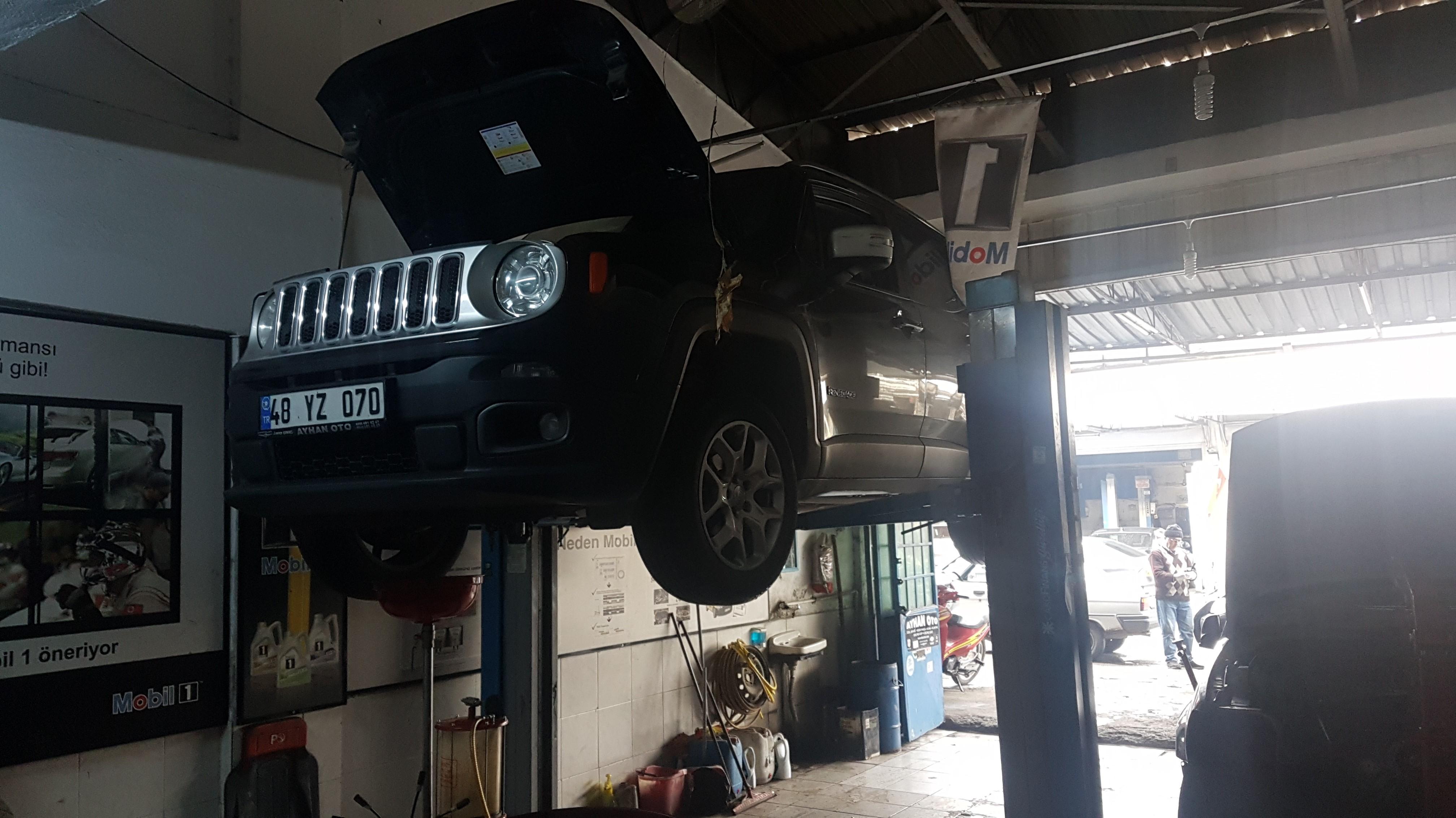 Jeep Renegade 1.6 Multijet Periyodik Bakımı