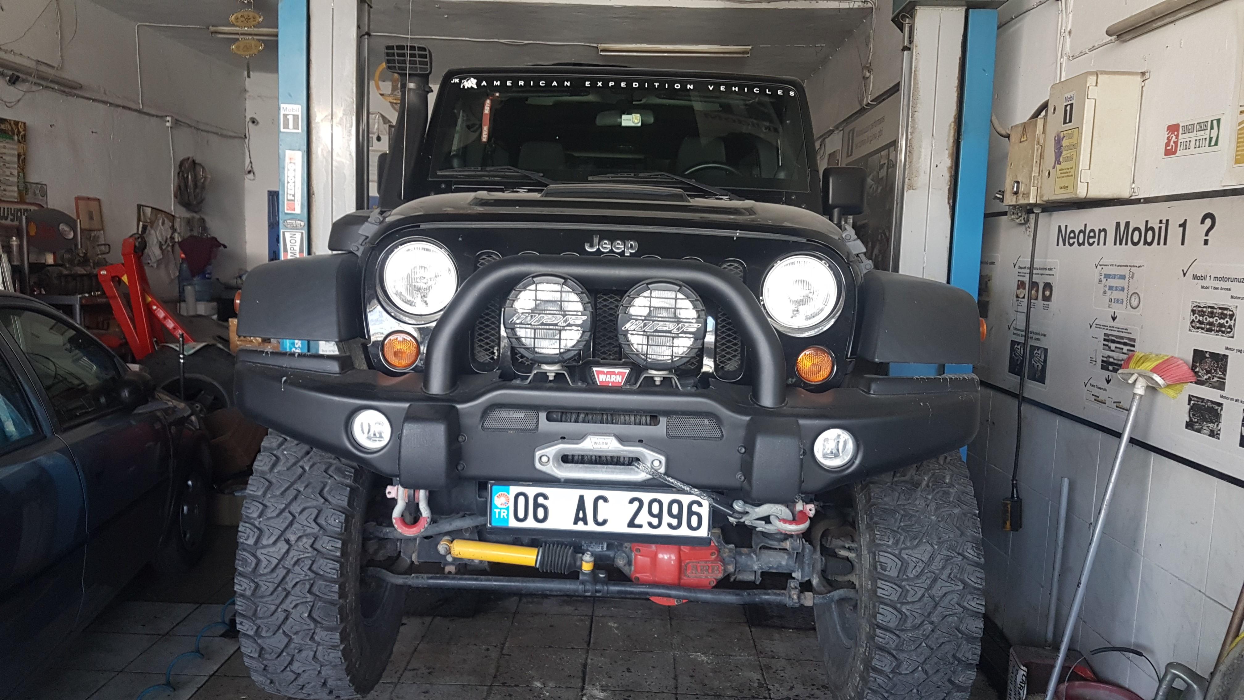 Jeep Rubicon Diferansiyel Dişli Değişimi
