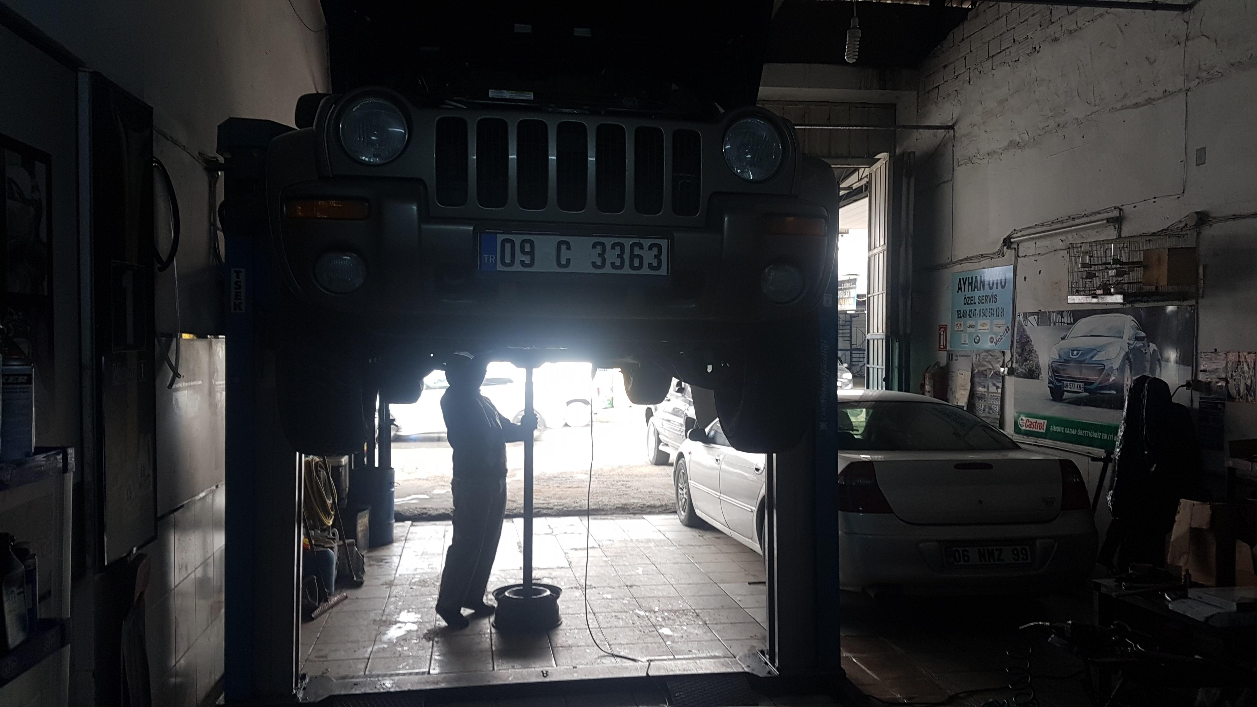 Jeep Cherokee KJ 2.8 Crd Şanzıman Bakımı