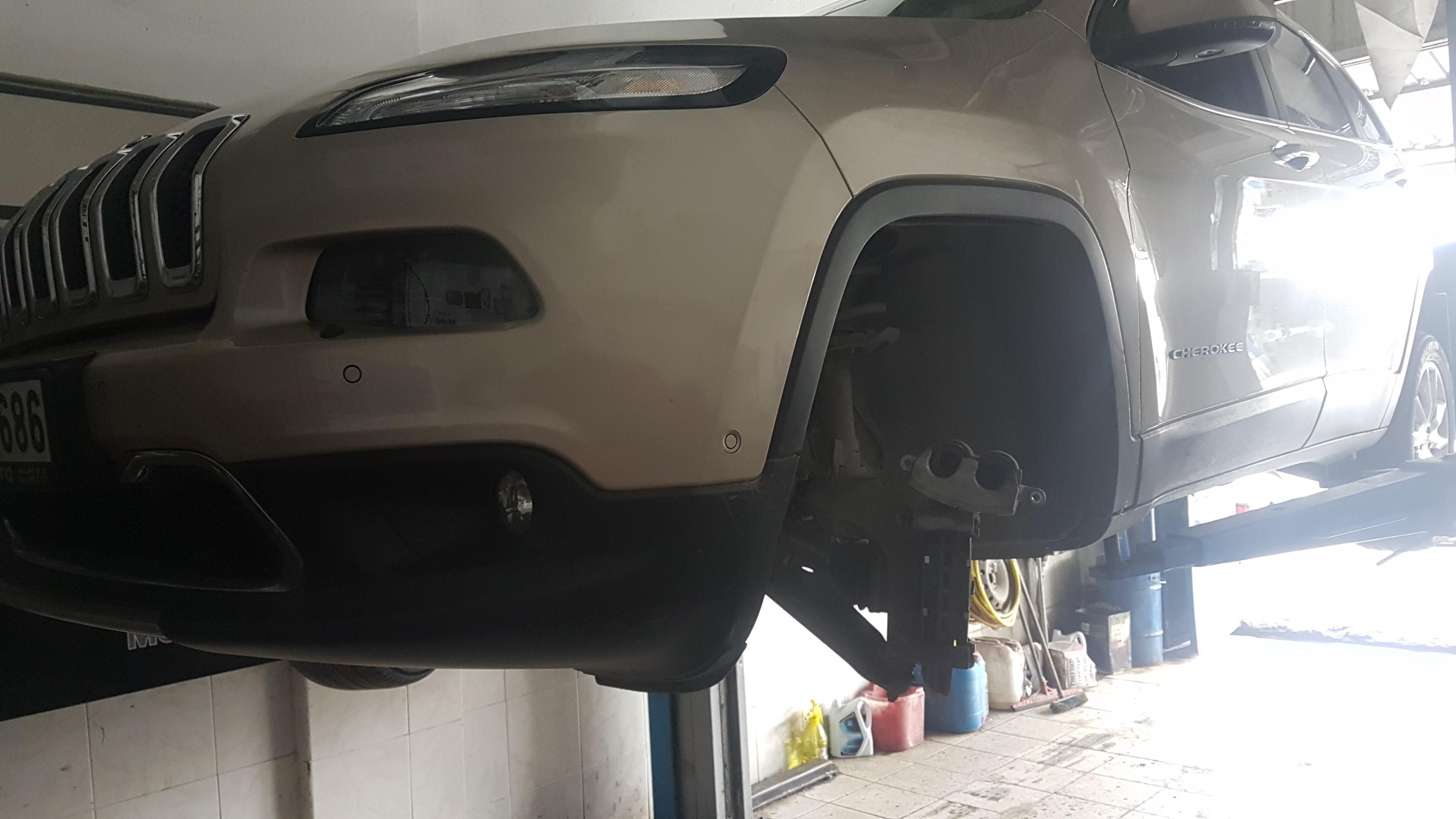 Jeep Cherokee KL Fren Balatası Değişimi